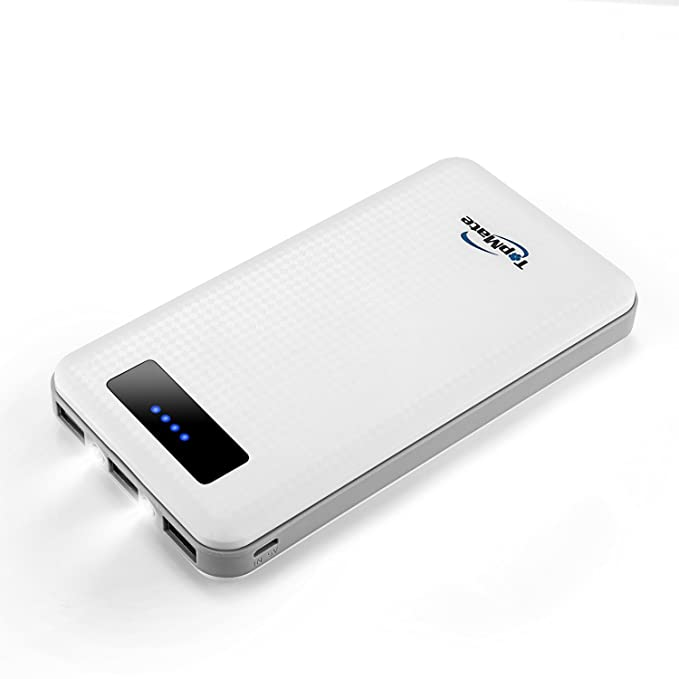 Amazon Topmate Power Bank 20000mah Three Port External Battery