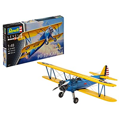 Revell 03957 Stearman PT-17 Kaydet Model Kit: Toys & Games