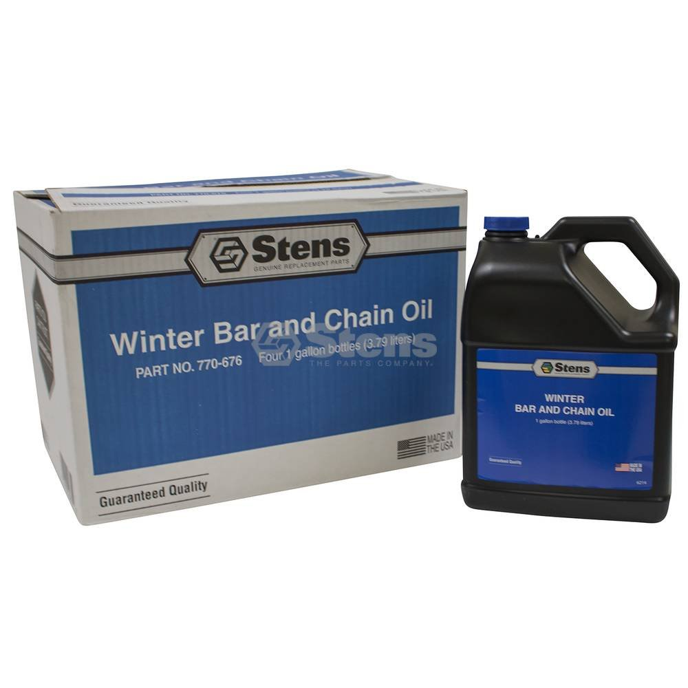 Winter Bar and Chain Oil