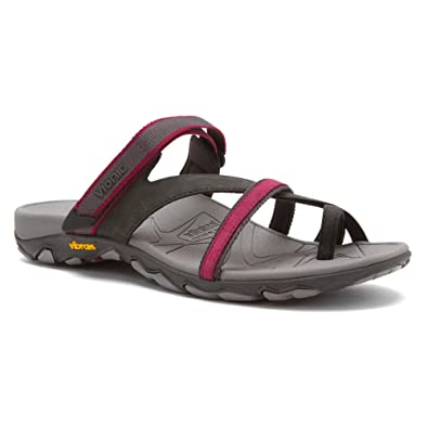 7bd9a059c435 Orthaheel Mojave Womens Orthotic Sandals Charcoal Berry - 11 UK Size ...