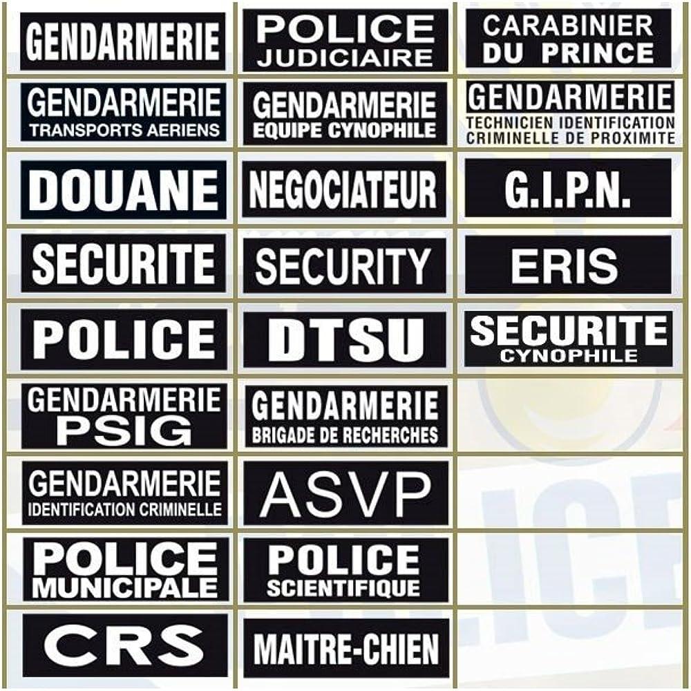 PATROL EQUIPEMENT Bandeau SECURITE invers/ée