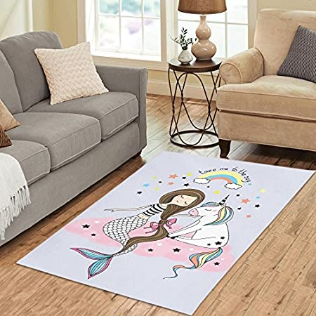 61Y%2B63D2HbL._SS450_ 50+ Mermaid Themed Area Rugs