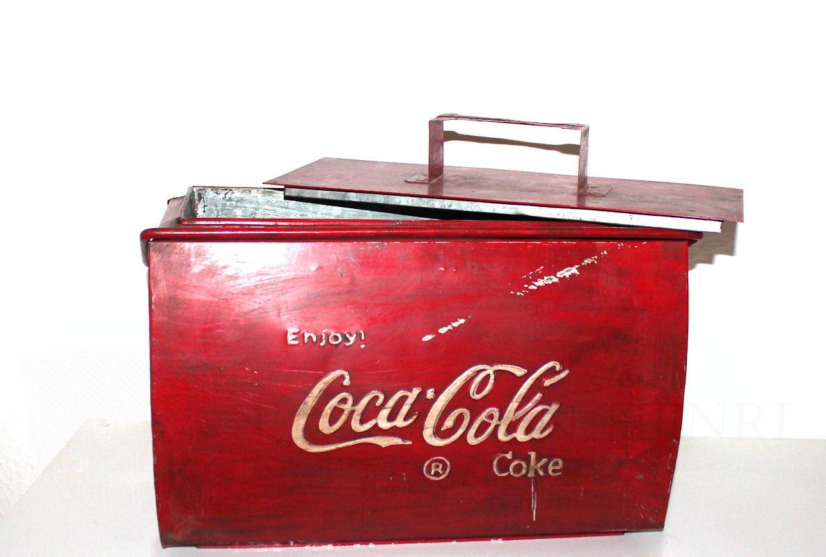 Coca Cola Transporte Nevera La Industria Estilo Usado überarbeitet ...