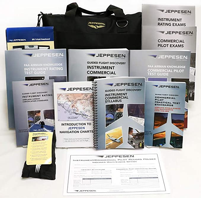 Jeppesen Private Pilot Kit Training Kit Part 141 10011887-R2//P
