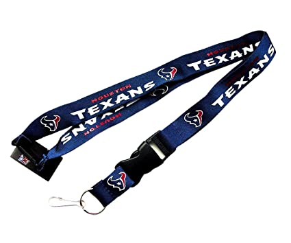 Amazon.com: Houston Texans Clip Lanyard Llavero ID Holder ...