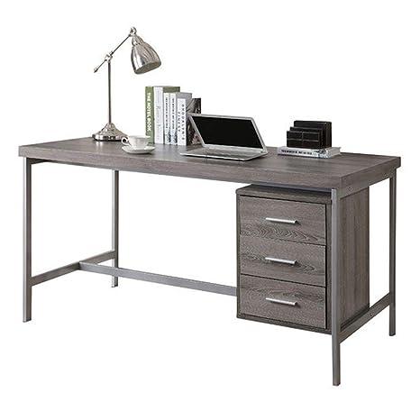 Amazon.com: Mesa de escritorio para ordenador de 60