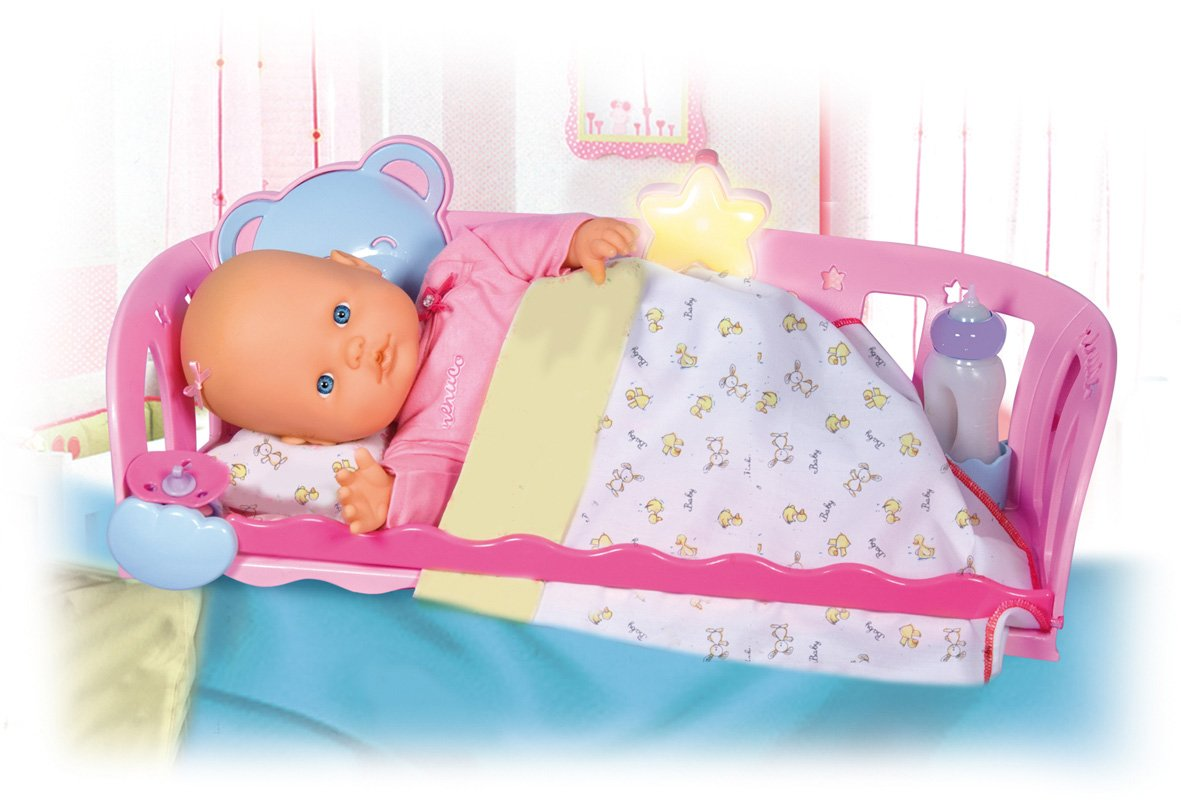 My First Nenuco with Sleep with Me Cradle Famosa Toys 700009572