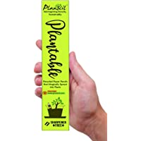 Plantcil Ecofriendly Plantable Seed 2B 10 Pencils with Sharpener for Kids