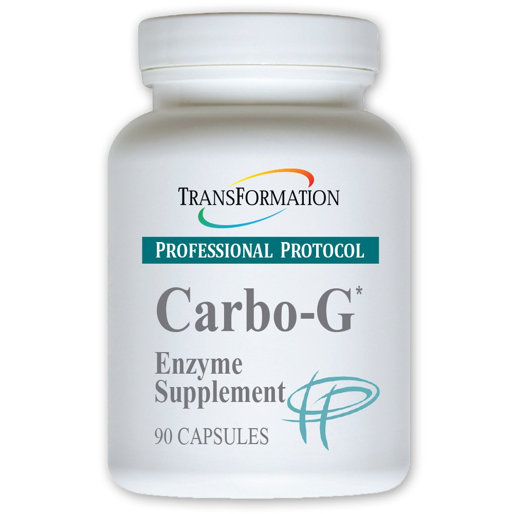 Transformation Enzymes - Carbo-G* capsules - #1 Practitioner Recommended - Designed to Help Encourage Digestion of Gluten and Complex Carbs. (90)