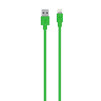 Belkin Apple Certified MIXIT Lightning to USB Cable 4 Feet (Green)  sc 1 st  Amazon.com & Amazon.com: Belkin Apple Certified MIXIT Lightning to USB Cable 4 ... azcodes.com