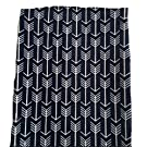 Changing Pad Cover in Bold Navy Arrow