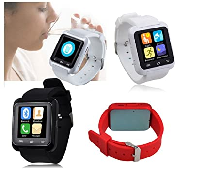 GoBuy U80/U80 Plus (versión actualizada de U8) Smartwatch reloj podómetro, con Bluetooth 4.0, compatible con smartphones iOS Apple iPhone ...