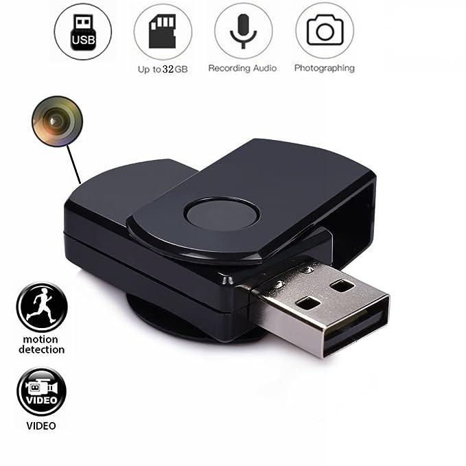 Codomoxo®: llavero con memoria USB y minicámara espía HD ...