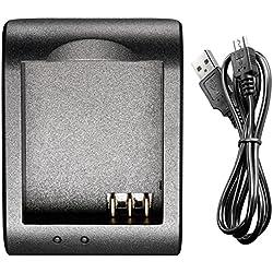 Bestlight® USB Battery Charger for SJ4000 SJ5000 SJ6000 SJ7000 of RioRand, AFUNTA, SJCAM,DBPOWER,QUMOX, Tronsmart, MeGoodo, Tronsport and Neewer Action Camera Batteries
