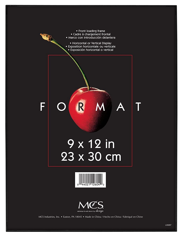 Amazon.com - MCS 9x12 Inch Format Frame, Black (12604) -