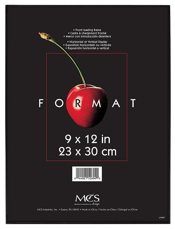 MCS - Marco Format 12604 negro de 22,86 x 30,48 cm: Amazon.es ...