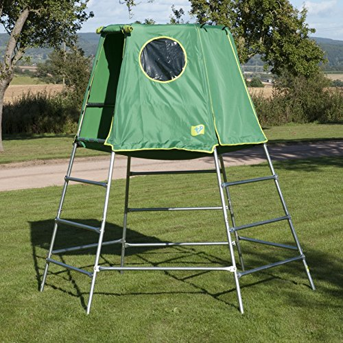 tp toys explorer 2 platform tent climbing set jungle gym