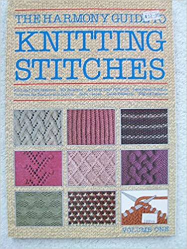 The Harmony Guide To Knitting Stitches Knit And Purl Patterns Rib