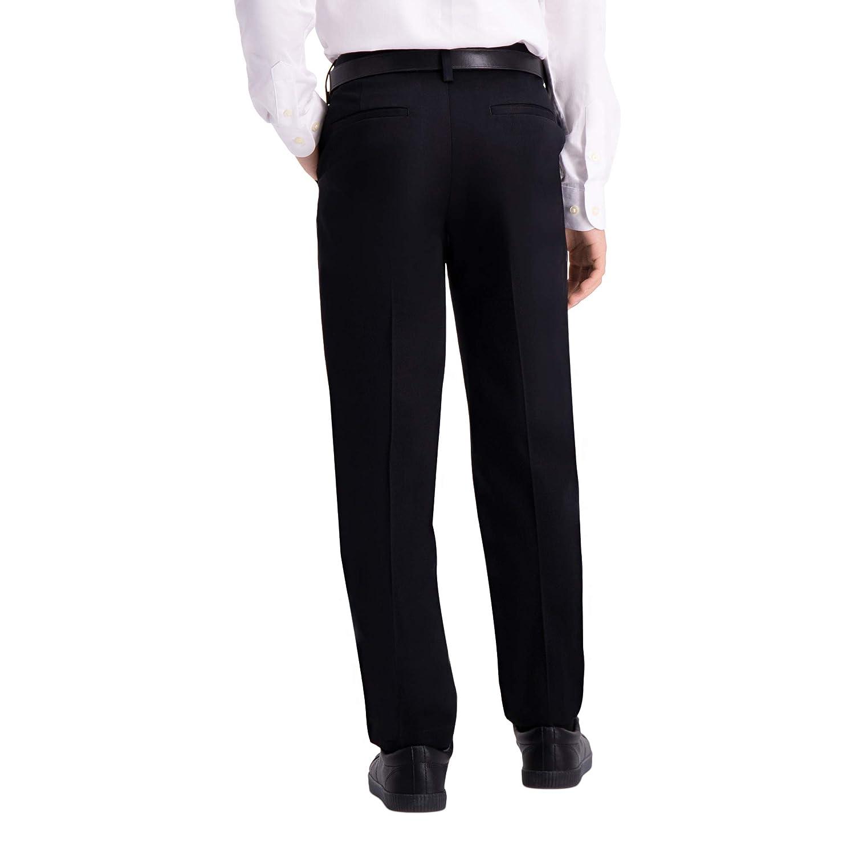 6cbb7a3e2b Haggar Big Boy's Youth Regular 8-20 Premium No Iron Khaki Pant