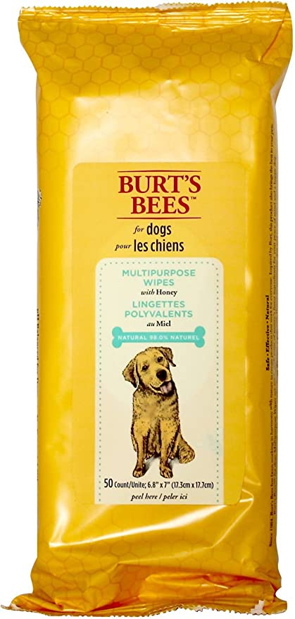 0b9ee0648cf Amazon.com   Burt s Bees For Dogs Multipurpose Grooming Wipes ...