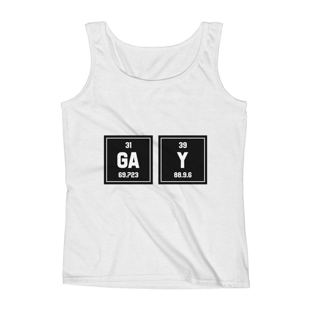 Mad Over Shirts Gay Unisex Premium Tank Top
