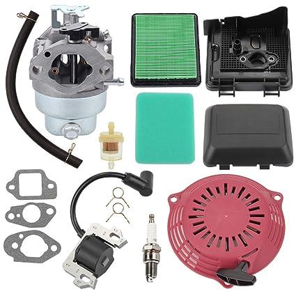 Amazon.com: Trustsheer GCV160 carburador para Honda GCV160A ...
