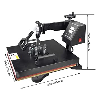 Seeutek Digital Sublimation Professional Heat Press Machine