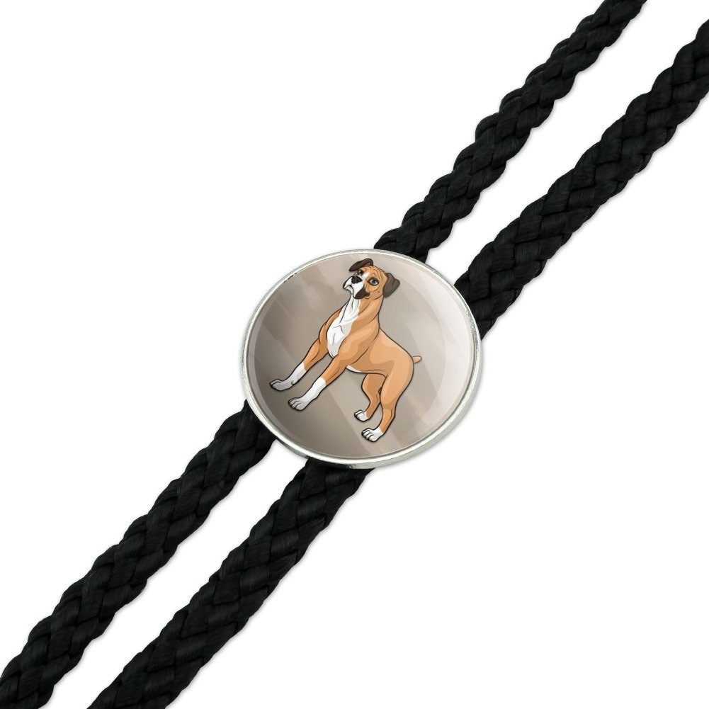 Boxer Pet Dog Western Southwest Cowboy Necktie Bow Bolo Tie