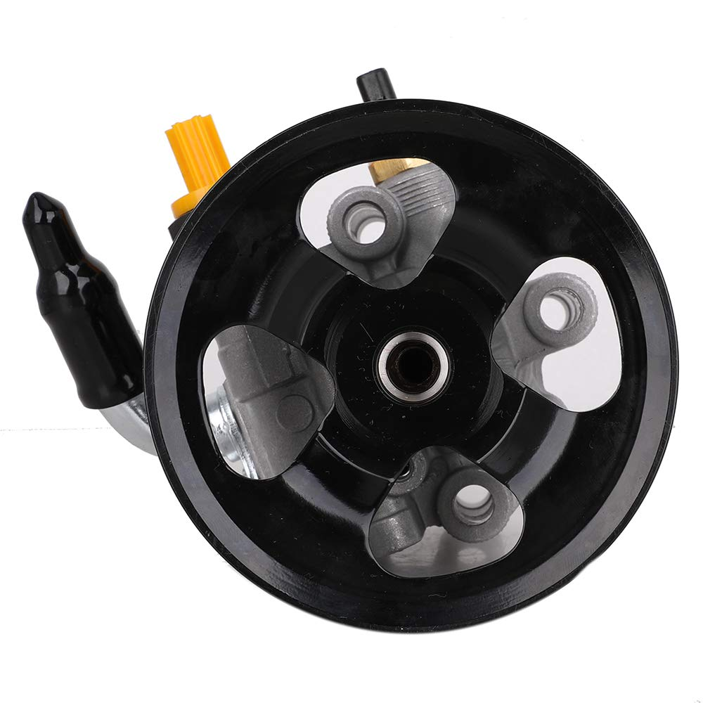Power Steering Pump with Pulley for 2002-2009 Toyota Camry 2002-2008 Toyota Solara 2.4L L4 Replace # 44310-33150 44310-06070 44310-06071 21-5245