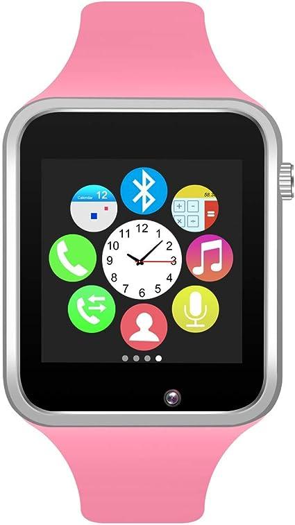 321OU Bluetooth Smart Watch Fitness Tracker, Touchscreen Smart Wrist Smartwatch with SIM SD Card Slot Make/Answer Phone Camera Pedometer Compatible ...