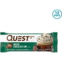 Quest Nutrition Quest Bars Mocha Chocolate Chip