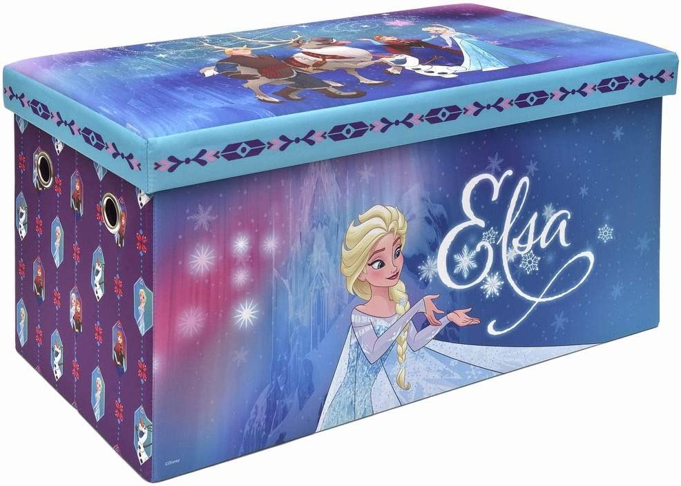 Frozen Storage Bench and Toy Chest, Officially Licensed, Perfect for any Playroom or Bedroom