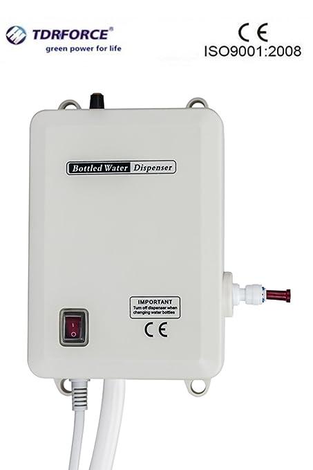 tdrforce sistema de la bomba del dispensador del agua de la botella de un tubo para