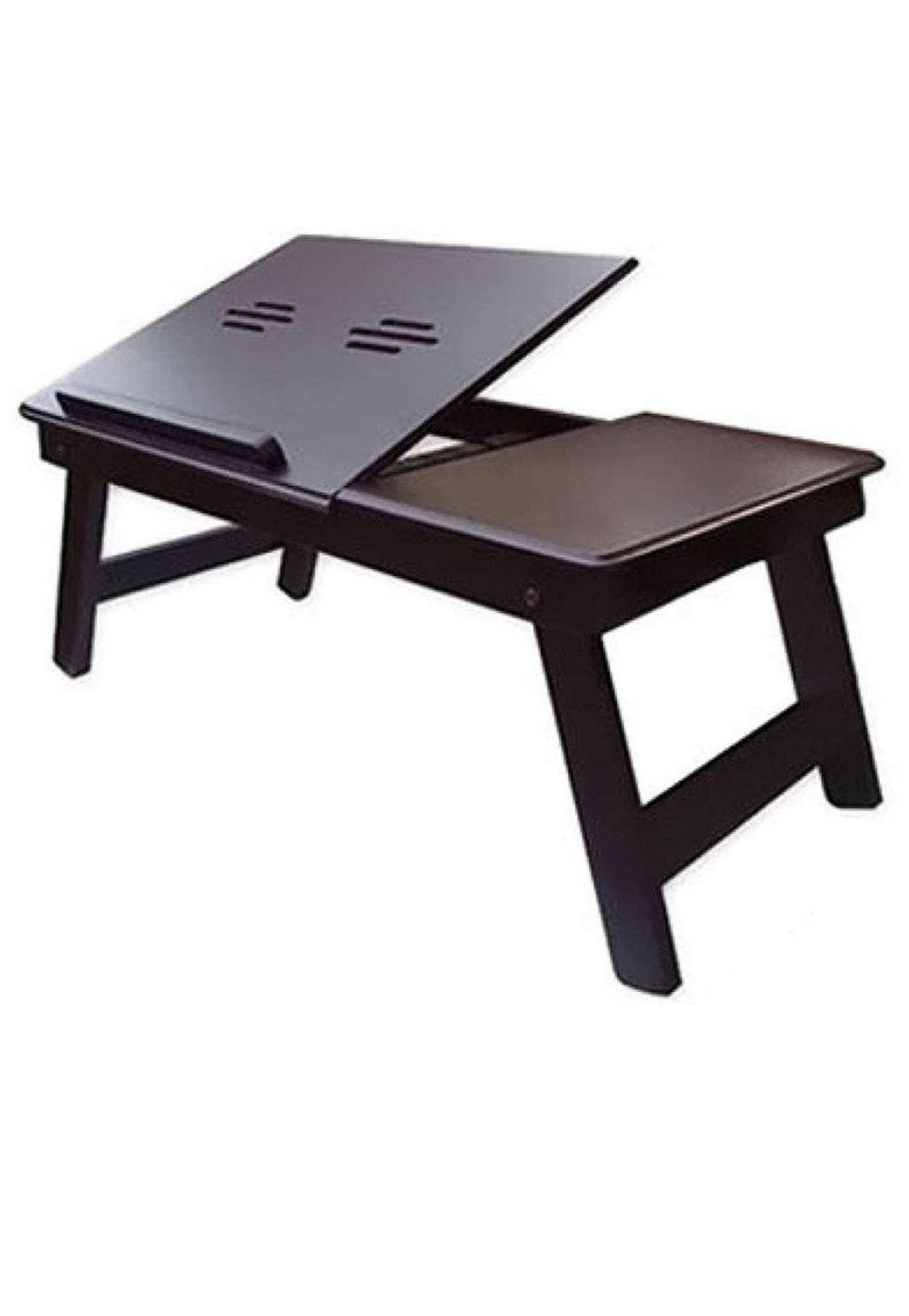 12 Star Wooden Laptop Table, Study Table, Multipurpose Table with Foldable Legs Brown (B07ZJ58QL9) Amazon Price History, Amazon Price Tracker
