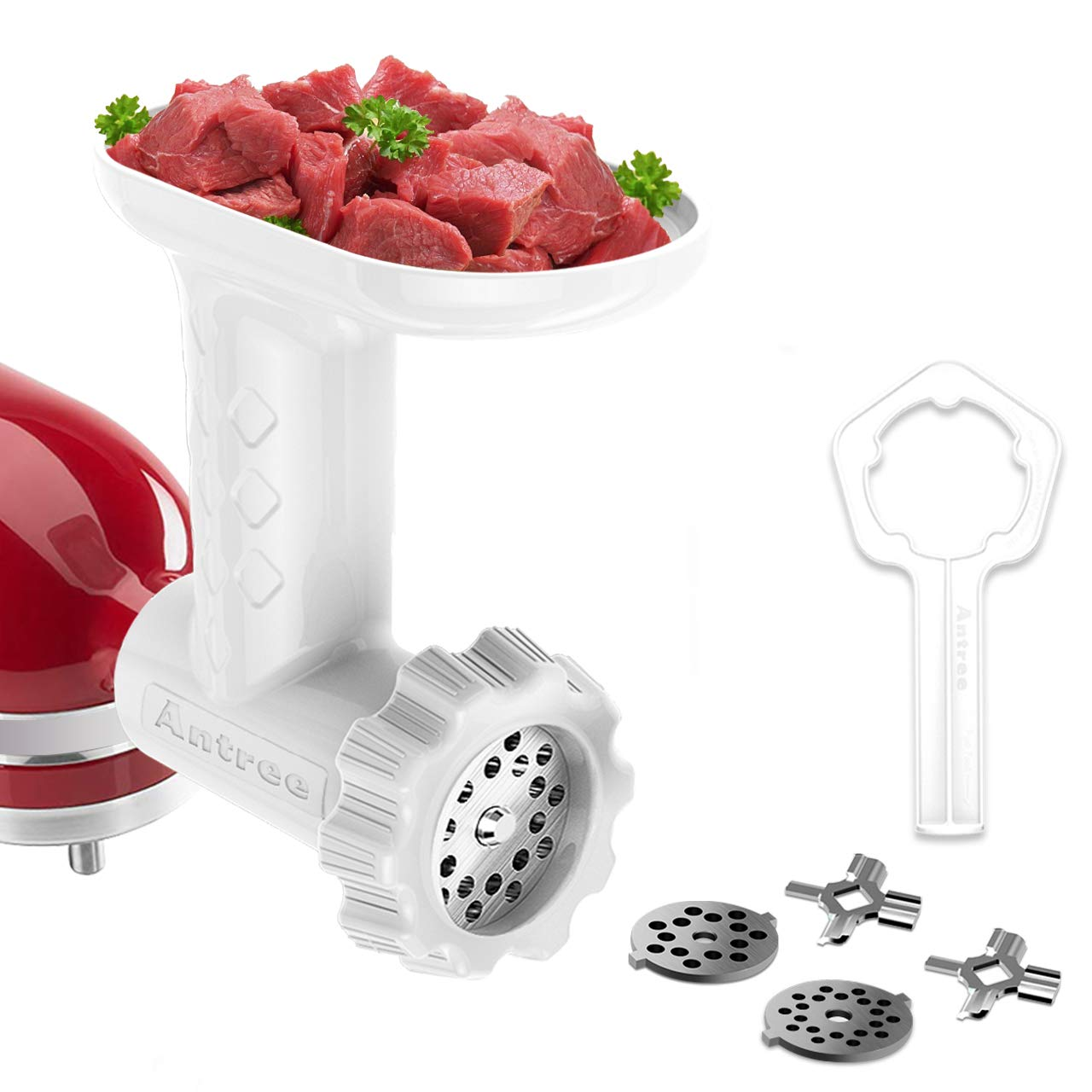 Details about Food Meat Grinder Sausage Filler Tube Attachment For Kitchen  Aid Stand Mixer