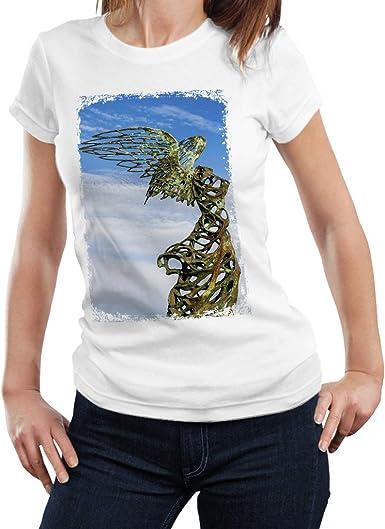 Titaniums Landing Nike - Camiseta Mujer - 100% Algodón: Amazon.es: Ropa y accesorios