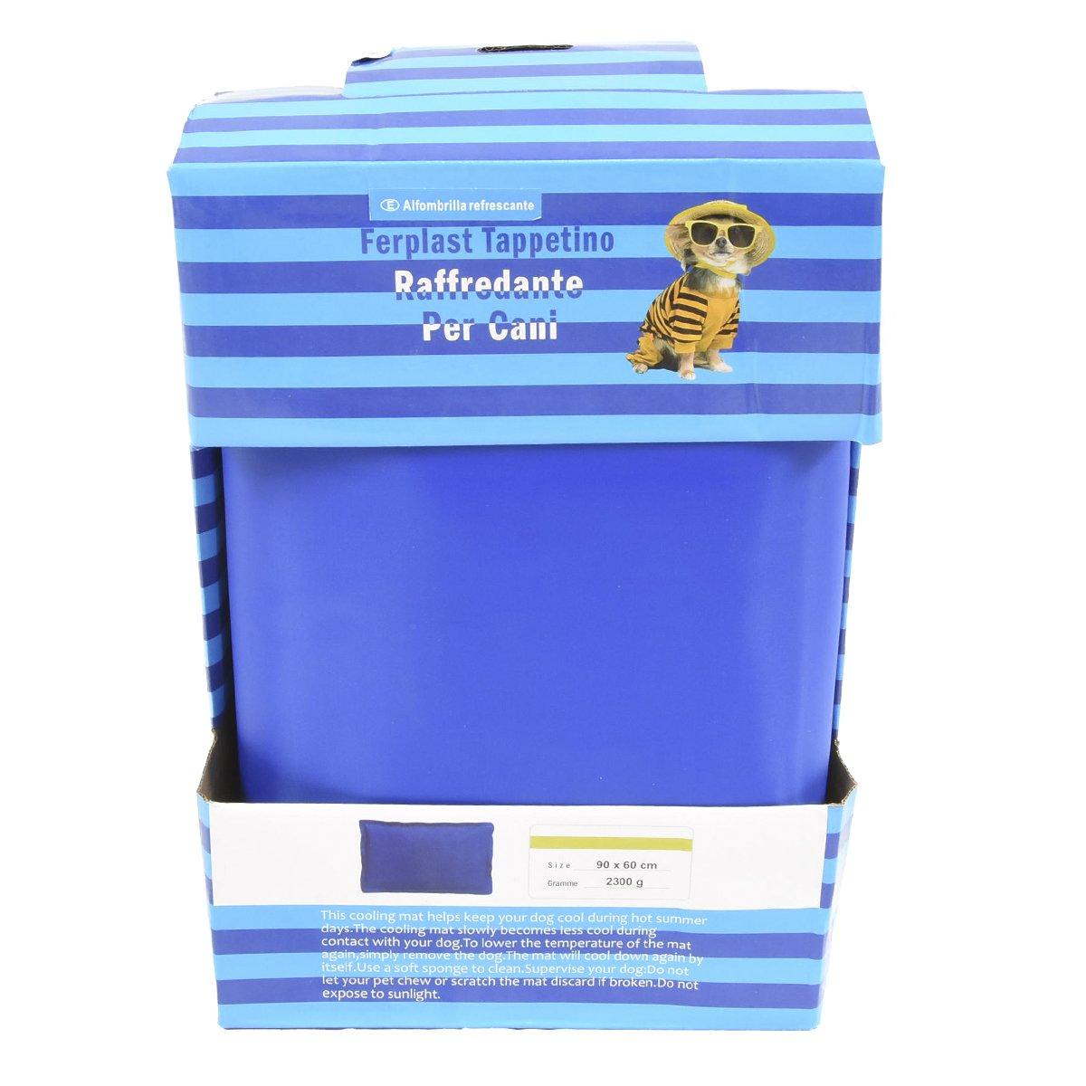 Cisne 2013, SL ¡5 Tamaños! Cama de Perro y Gato Fria para Verano, refrescante 55 x 90 cm Esterilla refrigerante.