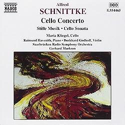 Schnittke: Cello Concerto Stille Musik Cello Sonata
