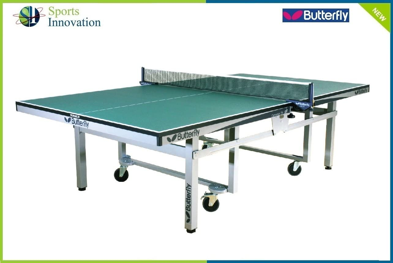 Mariposa mesa de ping pong plegable calzador - verde: Amazon.es ...