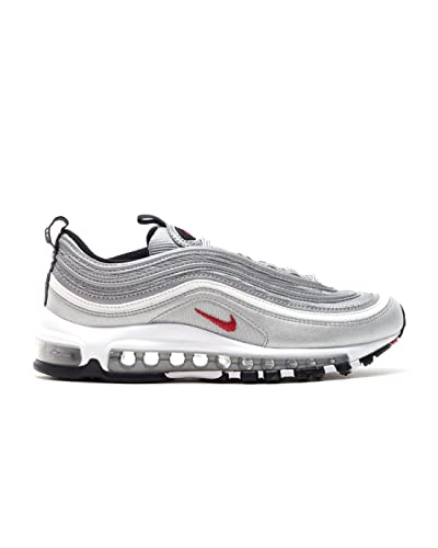 factory authentic 287e3 85ac9 Nike W Air Max 97 OG QS Metallic Silver Varsity Red - Número - 44.5   Amazon.es  Zapatos y complementos