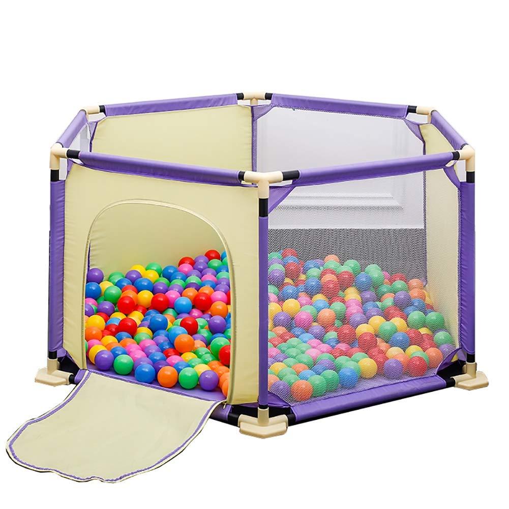 【即納】 ベビーサークル, balls ベビーベビーサークルボール Fence+150 (色、プレイマット付きセーフティプレイヤード、室内子供用ゲームフェンスホームプレイグラウンド (色 : Fence+150 balls) Fence+150 balls B07MVZN82T, 木製漆器専門 漆木屋:276cf3eb --- a0267596.xsph.ru