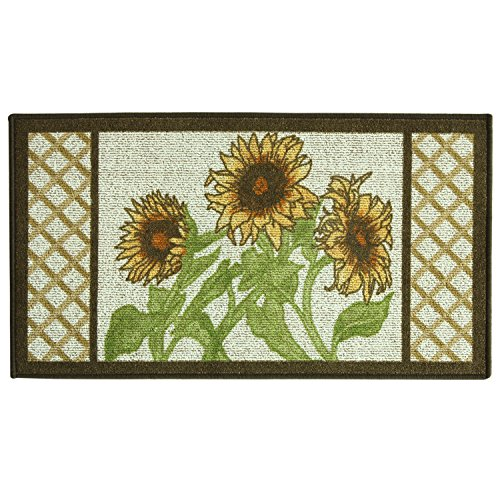"Bacova Kitchen, Sunflower Frame 22""x40"" Rug Bedding"