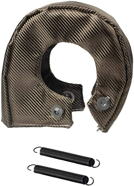 T3  Lava Turbo Blanket Titanium Turbo Blanket Heat Shield Cover With Metal Mesh