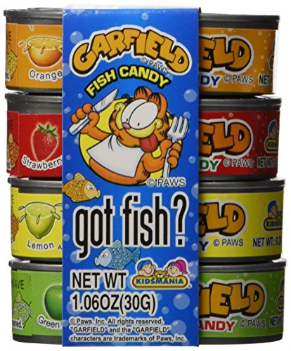 Garfield Candy - Garfield Fish Candy,  12 Count