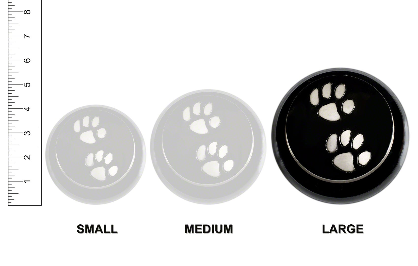 Best Friend Services Odyssey Pewter with Brass Paws (Large) by Best Friend Services (Image #6)