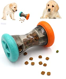 Letofun Food Dispensing Treat Puzzle Toys for Small Dogs to Keep Them Busy,Interactive Chase Toys for Dog Improves Digestion,Durable Enrichment Slow Feeder Toy