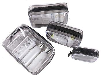 Amazon.com: Kosiehouse - Juego de 4 bolsas de cosméticos ...