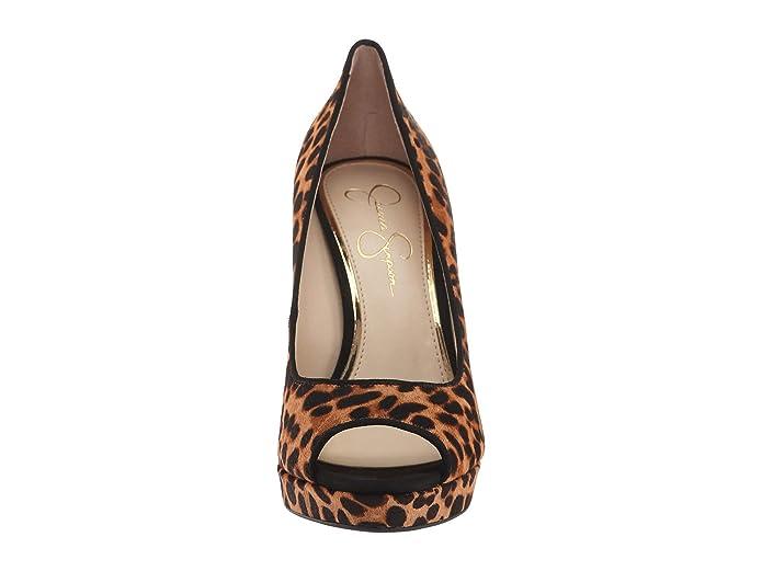 2fc7aaec1688 Amazon.com | Jessica Simpson Women's Dalyn3 Slip On Platform Peep-Toe Heels  Shoes | Pumps