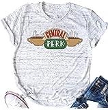 Central Perk Friends T Shirt Women's Friends TV Show Graphic Cute Tees Short Sleeve Casual Tops
