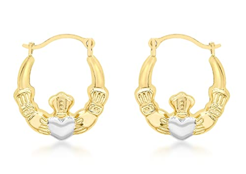 Carissima Gold Damen-Ohrringe 9 k (375) Bicolor